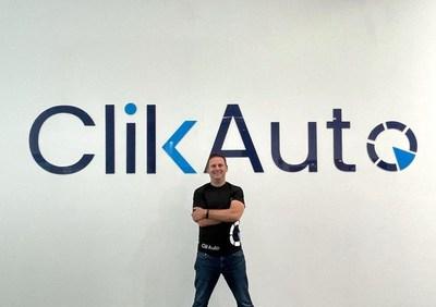 Diego Sansón- CEO and Co Funder (PRNewsfoto/ClikAuto)